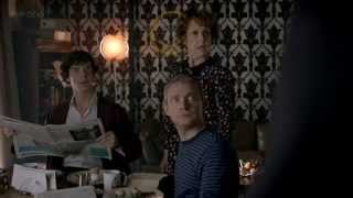 Sherlock   Помолчите , миссис Хадсон!    Майкрофт!!       Прошу прощения    Спасибо  Шерлок   Но по