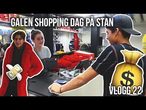 EN SJUK SHOPPING DAG PÅ STAN(🤑)   VLOGG 22