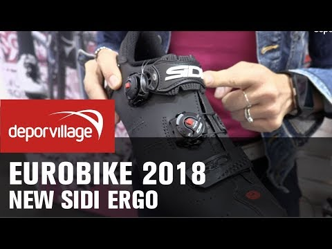 5795cec26f0 Eurobike 2018 - Sidi Ergo road cycling shoes 2019From Eurobike 2018 we  introduce you Sidi Ergo road cycling shoes 2019 models Deporvillage is an