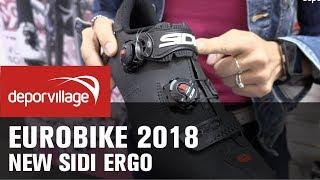 Eurobike 2018 - Sidi Ergo road cycling shoes 2019