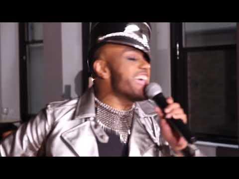 Popstar AARON PAUL on Stage POPSTAR -  Live at IFashion Magazine 10 Year Anniversary - 05/05/18