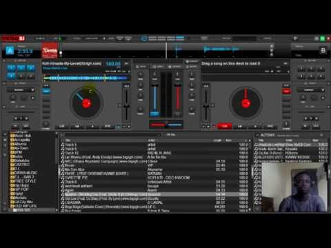 how to play virtual dj with keyboard
