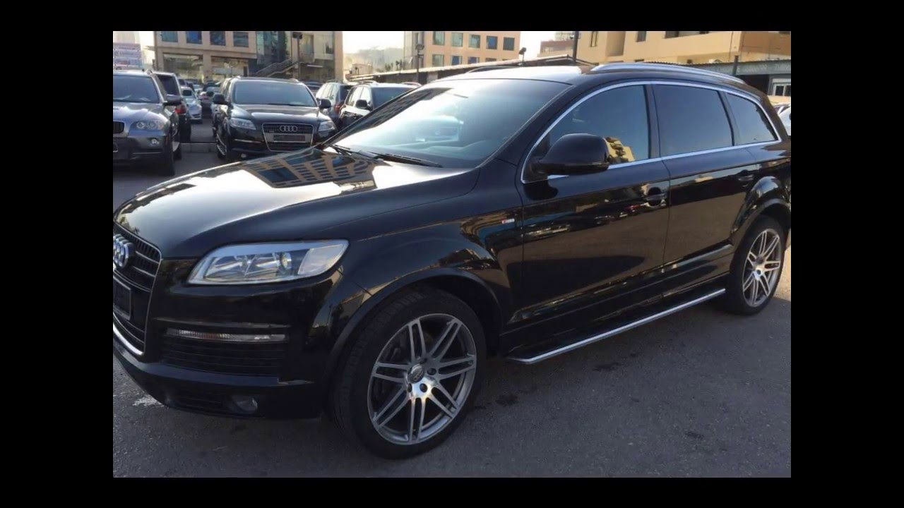 2009 audi q7 v8 s line perfect condition for sale ebc lebanon cars youtube. Black Bedroom Furniture Sets. Home Design Ideas