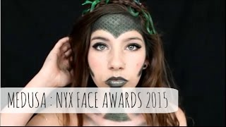 NYX FACE AWARDS 2015 ENTRY: MEDUSA MAKEUP TUTORIAL
