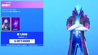 BOUTIQUE D'ARTICLES FORTNITE 'NEW' INFINITY SKIN! 24 août 2019 (FORTNITE BATTLE ROYALE)