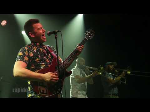 Eli Paperboy Reed meets High and Mighty Brass Band Paris 2018