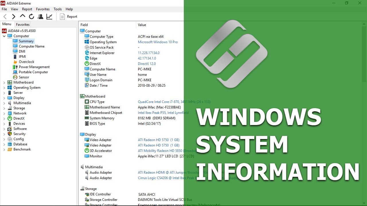 How to View Your Motherboard, CPU and Graphics Card Model, DirectX, BIOS  💻ℹ️👨‍💻