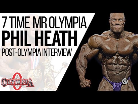 Phil Heath 7 Time Mr Olympia 2017 Post Contest Interview | MassiveJoes.com