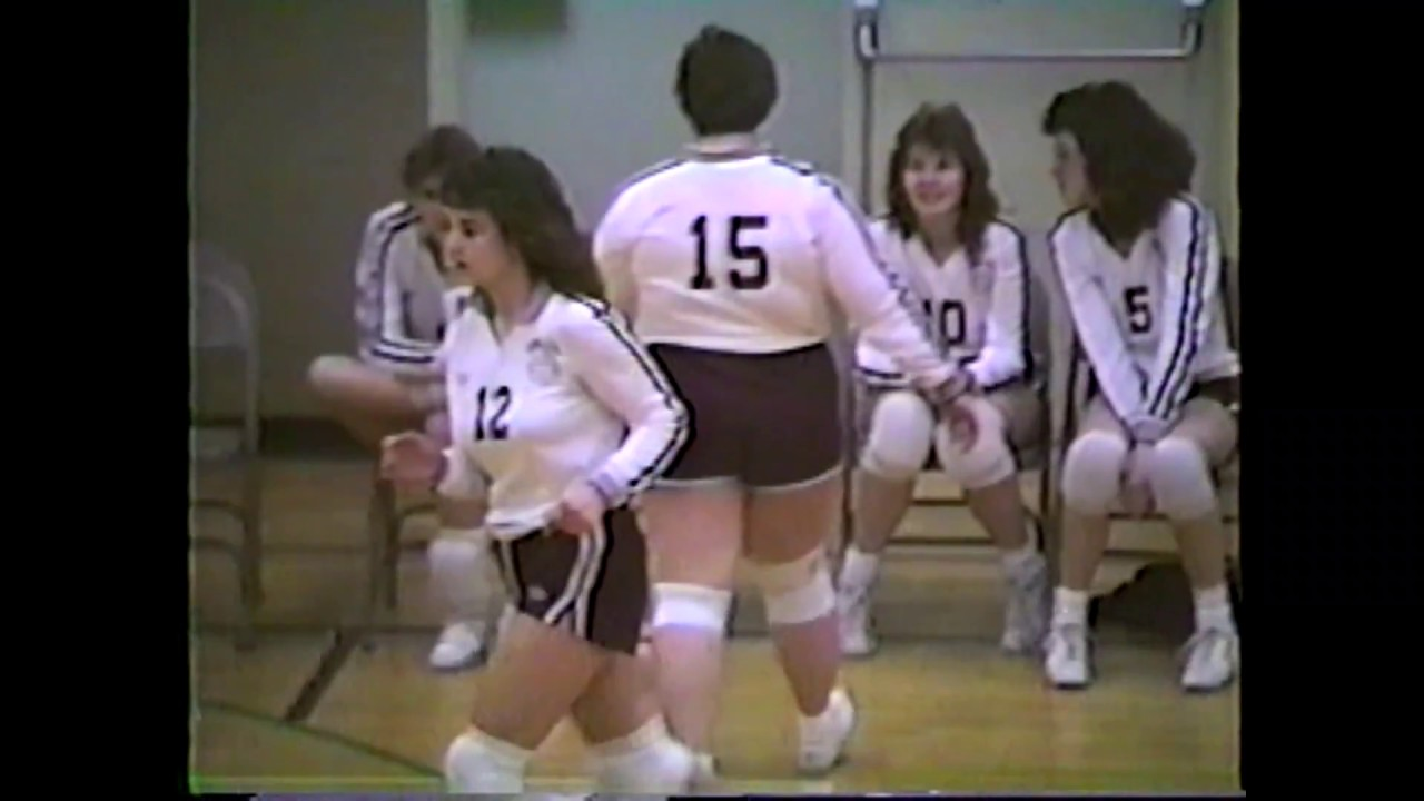 NCCS - Plattsburgh Volleyball  2-11-88