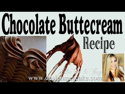 Easy Chocolate Buttercream Recipe