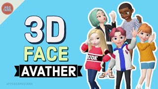 TOP 6 ANDROID APPS TO MAKE YOUR OUN 3D AVATER👨/ 3D FACE AVATHR/SAVE GIFE AND SHARE ON SOCIAL MEDIA
