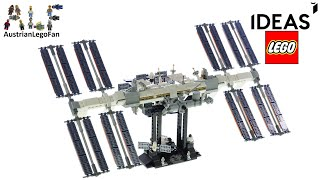 LEGO Ideas 21321 International Space Station - Lego Speed Build Review
