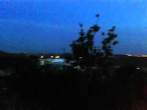 Sunrise - Daylight & Night Darkness At The Same Time