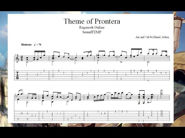 Ragnarok - Theme of Prontera - Guitar TAB Chords - Chordify