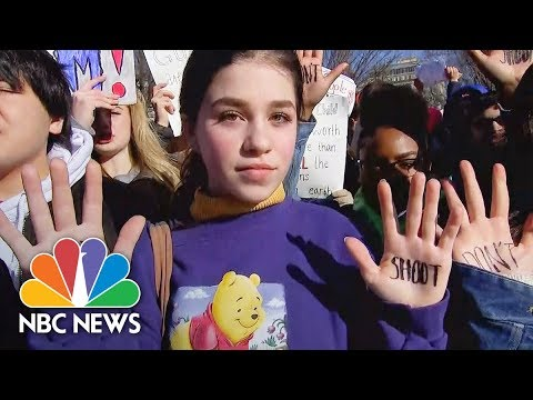 Students Protest Gun Violence With Walkout | NBC News