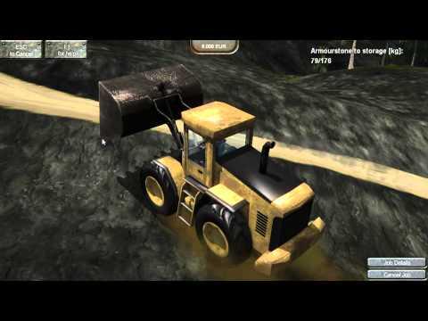 【傳說企業社】PCGAME-Stone Quarry Simulator 2012 模擬採石場2012 (英文版)