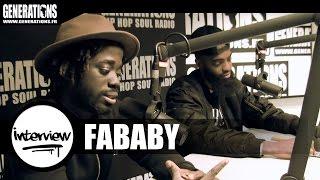 Fababy - Interview #Nekama (Live des studios de Generations)