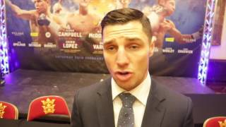 TOMMY COYLE - 'WHEN I FIGHT IN HULL & THE CROWD ARE BEHIND ME ITS LIKE IVE GOT A BATTERY PACK!!'