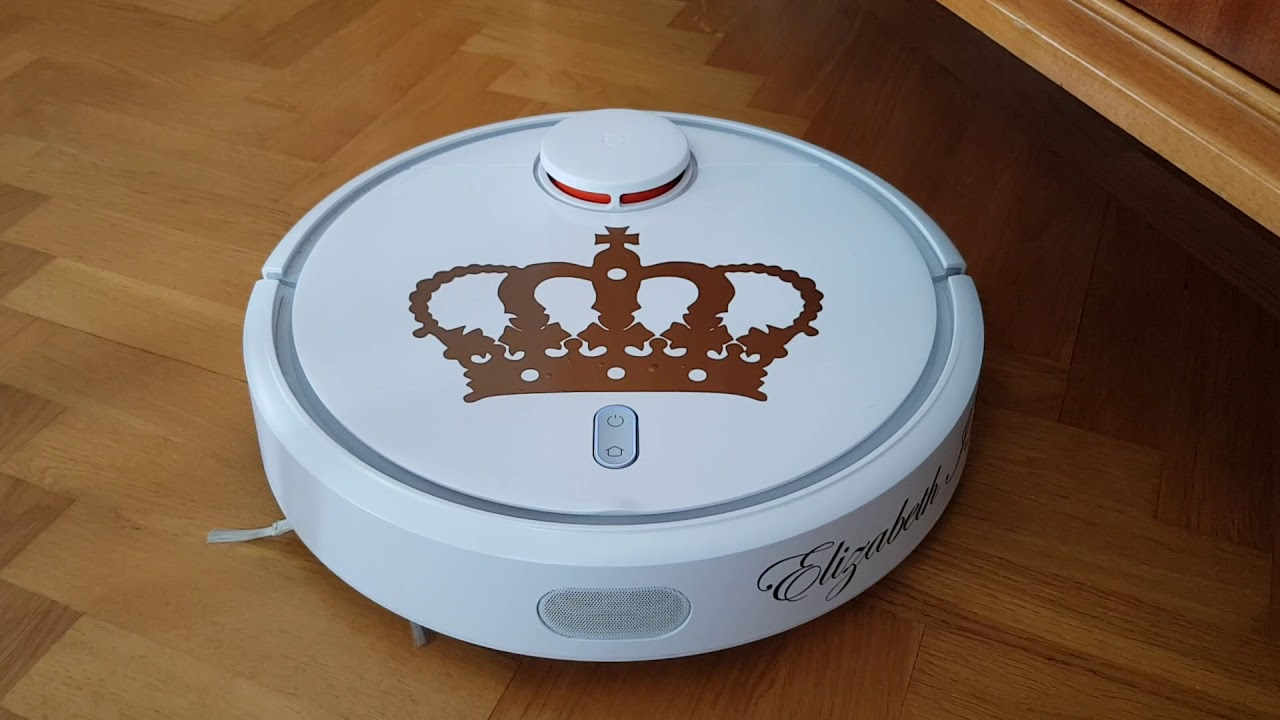 Xiaomi Vacuum robot with custom voicepack Queen Elizabeth II