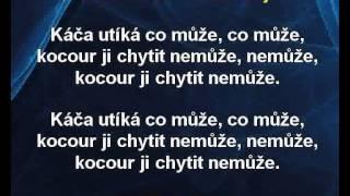 Karaoke klip Utíkej, Káčo, utíkej - Dětské písničky
