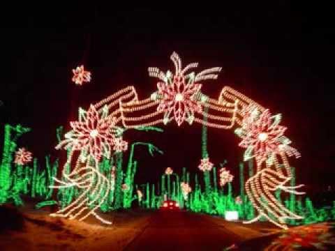 Hartwood Acres Celebration of Lights - YouTube