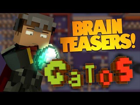 Minecraft | Brain Teaser Puzzles! | Test Your Minecraft Knowledge! GATOS (Minecraft Puzzle Map)