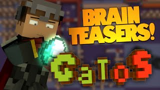 Minecraft | Brain Teaser Puzzles! | Test Your Minecraft Knowledge! GATOS (Minecraft Puzzle Map)