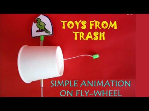 Simple Animation on Fly-Wheel | Bhojpuri