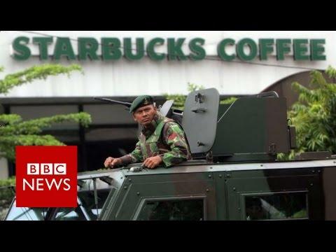 Jakarta Attack: How Assault On City Unfolded - BBC News