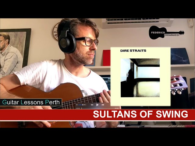 Sultans of Swing - Fingerstyle Cover (Vocals, Guitar, Bass Line and Harmony) - Federico Chianucci