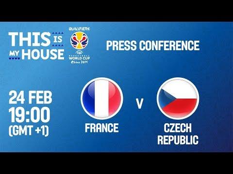 France v Czech Republic - Press Conference