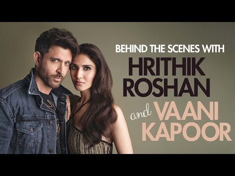 Behind The Scenes With Hrithik Roshan And Vaani Kapoor   Vaani And Hrithik Photoshoot  Femina Cover