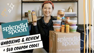 Splendid Spoon Unboxing & Review | Splendid Spoon Coupon Code | Trying Splendid Spoon