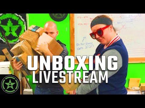 Achievement Hunter Unboxing Stream! (#4)