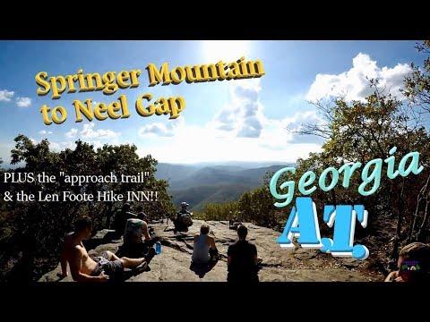 Appalachian Trail (GA) Springer Mountain to Neels Gap + the Len Foote Hike-Inn!