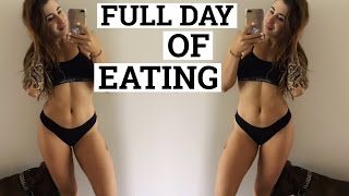How to Be a Pro at Flexible Dieting || Full Day of Eating IIFYM
