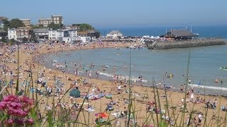 Broadstairs - a lovely seaside town in Kent, England, UK, home of Hilderstone College