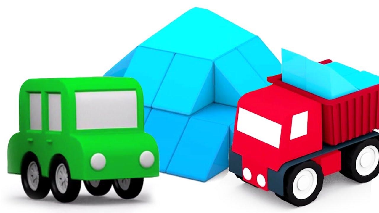Populaire Apprendre les couleurs avec 4 voitures colorées: une grande  GN14