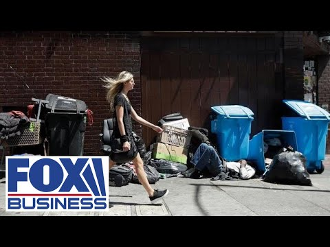 Homelessness Crisis Plaguing Major Cities Across The US