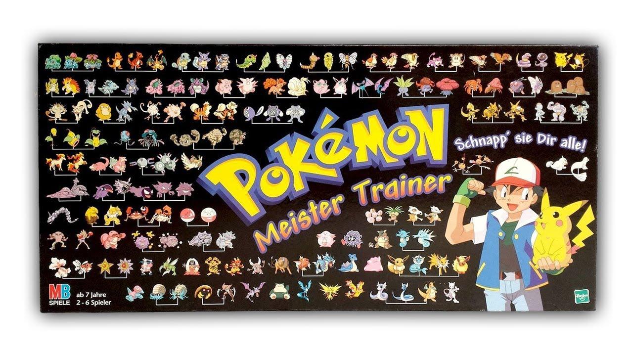 Pokemon Meister Trainer Brettspiel