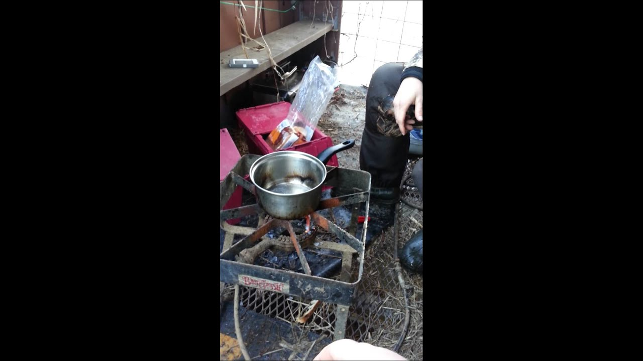 Youtube Cooking: Duck Blind Cooking Show