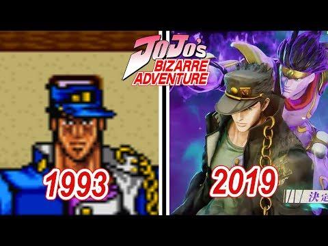 JoJo's Bizarre Adventure Games Evolution (1993 - 2019)