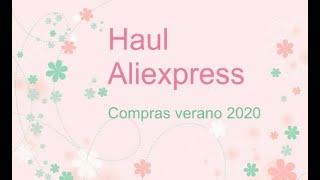 ALIEXPRESS Manualidades Haul Recopilatorio COMPRAS Verano 2020 - Enlaces actualizados