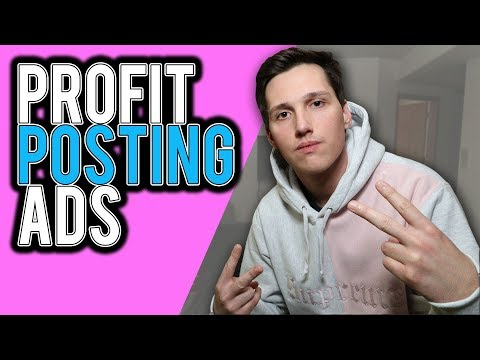 How To Make Money Online By POSTING ADS