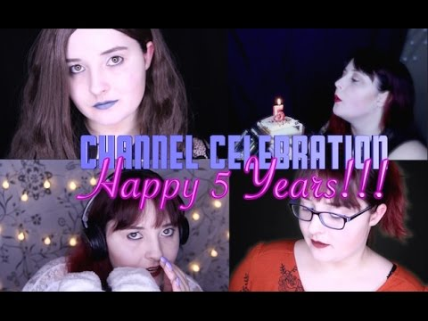 ASMR Channel Celebration Party 🎉 (Happy 5 Years) 🎈🎈