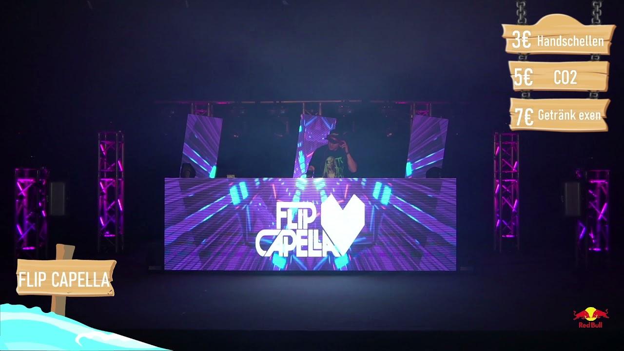 Flip Capella   Live   Stream Austria goes Sofa   Full 45 Min Party DJ Mix + Interview