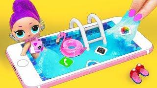 13 шикарных ЛАЙФХАКОВ и поделок с КУКЛАМИ ЛОЛ Сюрприз! Мультик LOL Surprise toy SCHOOL LIFE HACKS
