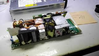 hp DPS-800GB repair 1000 W ремонт блоку живлення сервера