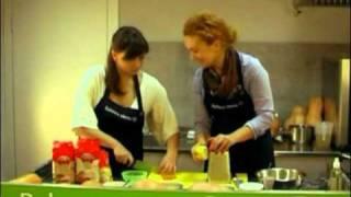 Салат из пшена с курагой и яблоком