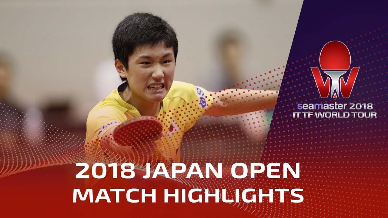 Download Zhang Jike vs Tomokazu Harimoto | 2018 Japan Open Highlights (Final)